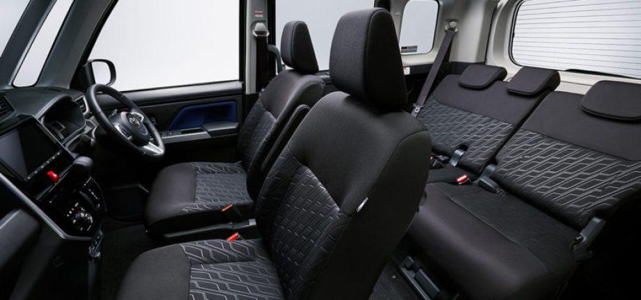 広い車内空間を最大限に利用する