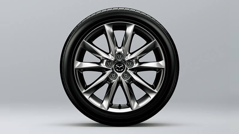 215/45R18タイヤ&18インチアルミホイール(高輝度ダーク塗装)