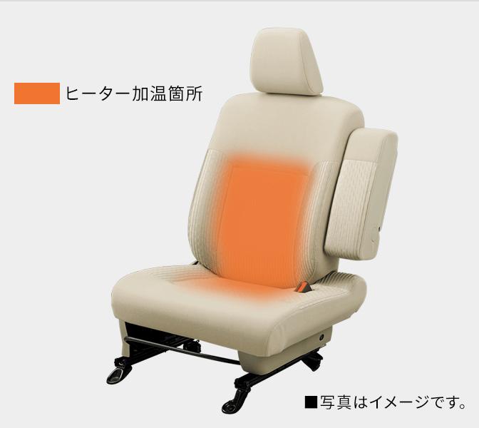 運転席シートヒーター〈4WD〉