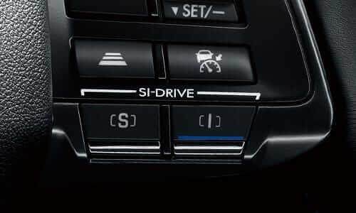 SI-DRIVE(2モード)インテリジェントモード(I)スポーツモード(S)
