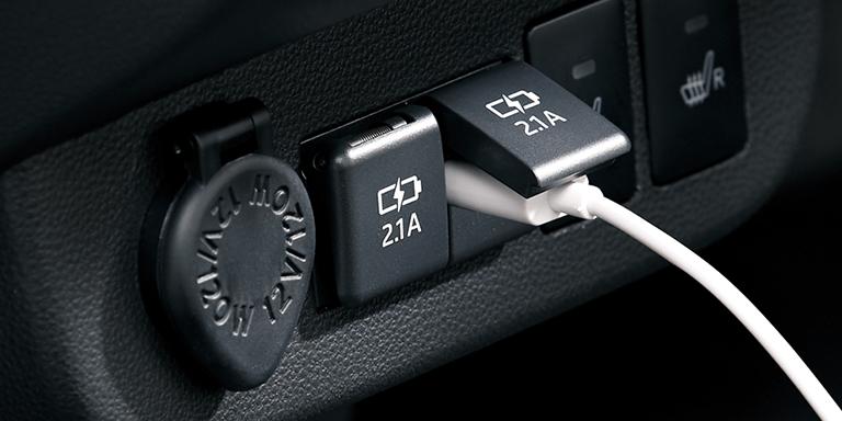 USB電源ソケット(2口)