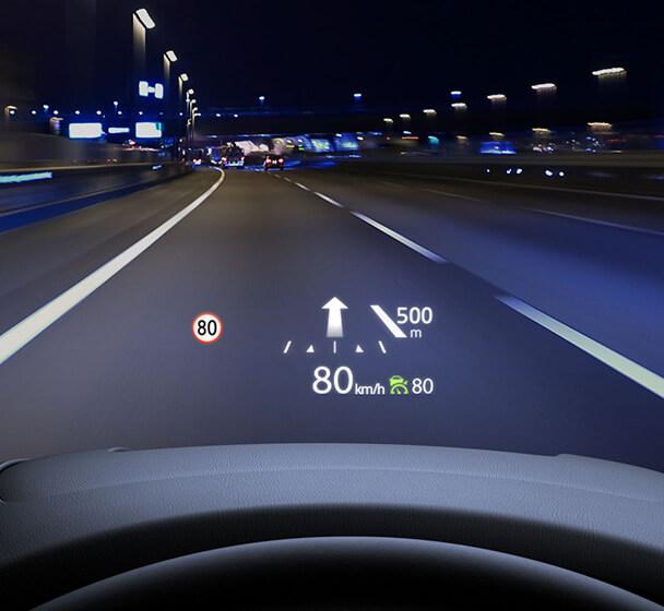 安心のアクティブ・ドライビング・ディスプレイ