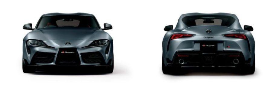 スープラのエクステリアを BMW Z4と比較する