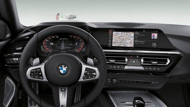 BMW Z4のインテリアは高級感とスポーティーが融合