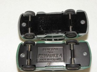 chassis avec gravures différentes