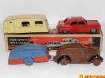 Ford Zephyr Saloon With Caravan