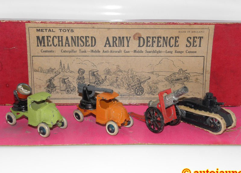 Jo Hill Co coffret Metal Toys