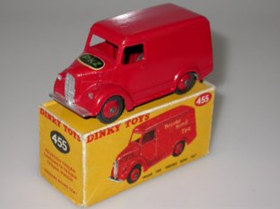Dinky Toys English panel van PKZ