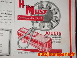 Musy était spécialisé dans les jouets premier âge...comme ce hochet