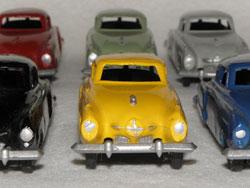 Gasquy Studebaker Champion, palette de couleur