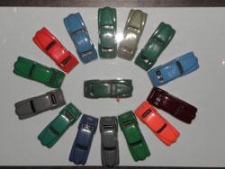 palette de couleur d'Hotchkiss Minialuxe