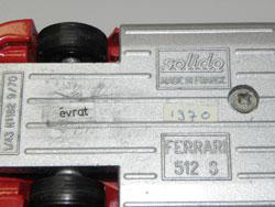 Modelisme Ferrari 512S
