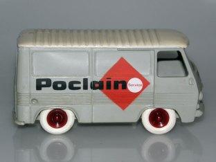 Bourbon Peugeot J7 fourgon Poclain service