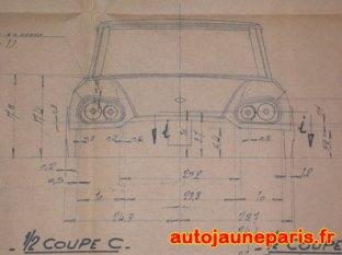 Plan Citroën DS Présidentielle
