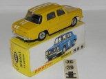 Dinky Toys Renault 8S jaune avec bandes Gordini