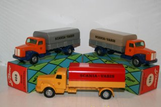 Scania Vabis bâché