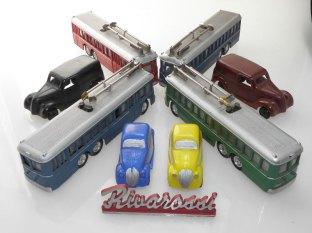Trolleybus, tramway et Fiat Rivarossi
