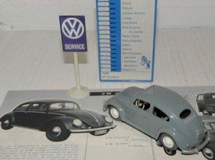 Wiking Volskwagen 1954 et son catalogue