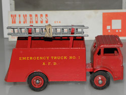 Winross Toys, peu fréquent White 1500 pompier