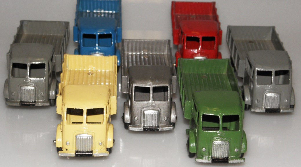 Dinky Toys Ford entrepreneur type 1