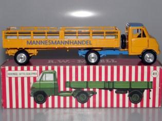 RW Hanomag semi remorque ajourées promotionel Mannesmann