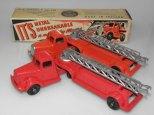 Camions Mack pompier Tootsietoys et Moore