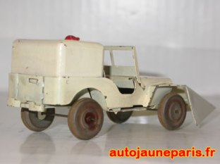 Jeep chasse-neige Polichinelle