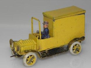 Ernst Plank voiture postale
