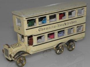 Erzgebirge omnibus à deux étages de la ville de Berlin