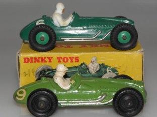 Charbens et Dinky Toys : Cooper Bristol