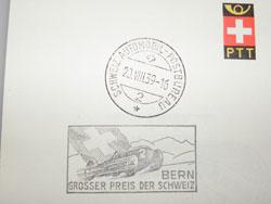 lettre émise le jour du grand prix en 1939