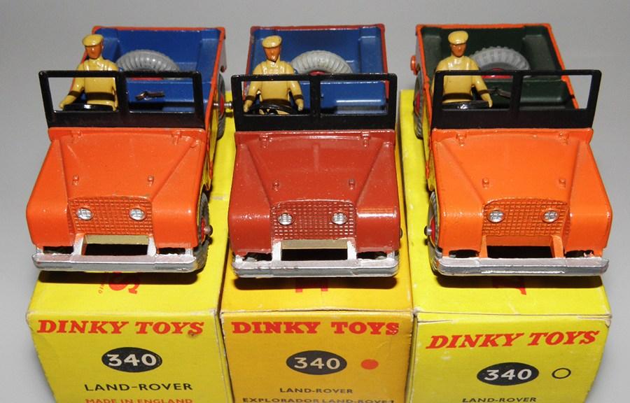 Toys Land Rover 88