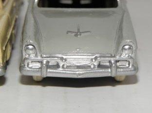 Plymouth Belvedere Dinky Toys : face avant de série