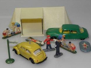 Siku Volkswagen peilwagen et Citroën DS21