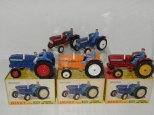 Dinky Toys : palette de couleur pour ces tracteurs Leyland