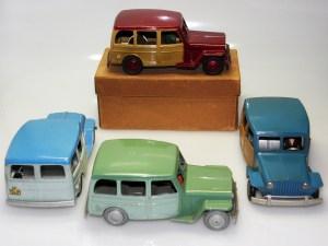 couleurs de Mercury Willys