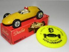 """Dalia Porsche F2 avec premier type de boîte et pins """"Stirling Moss"""""""