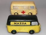 prototypes Peugeot D4A ambulance et Mazda