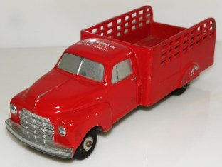 National-product Studebaker camion ridelles ajourées