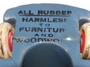 Rubber De Soto avec slogan publicitaire