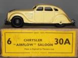 Dinky Toys Chrysler Airflow après-guerre