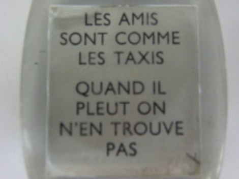 porte clef taxi pour accompagner les Minialuxe taxi
