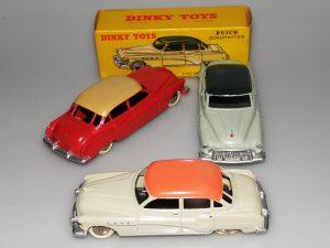 Dinky Toys essais de couleur de Buick Roadmaster