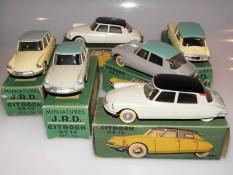 JRD Citroën DS19 histoires de nuance de couleur