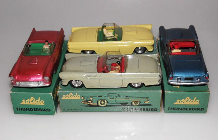 Solido Ford Thunderbird couleurs rares