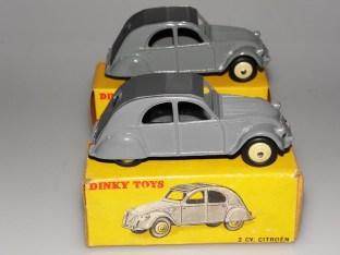 Dinky Toys Citroën 2cv nuances de gris