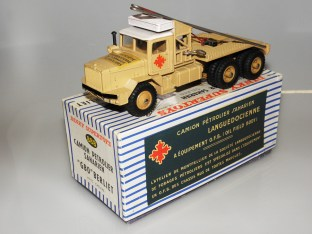 Dinky Toys Berliet GBO saharien promotionnel Languedocienne