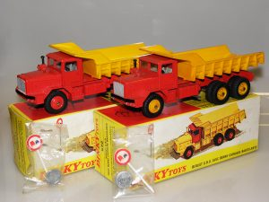 Dinky Toys Berliet GBO benne