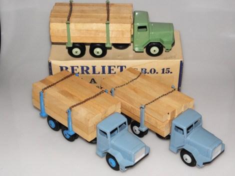 Quiralu Berliet GBO camions fardier