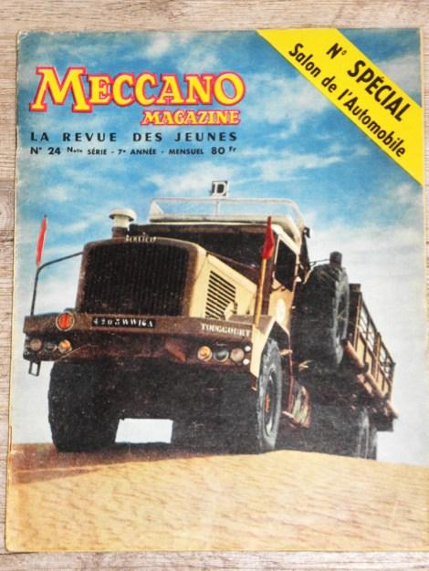 Meccano magazine Berliet GBO